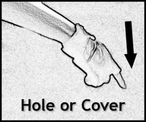 Hand Signals - Hole or Cover