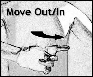 Hand Signals - Move Out or In